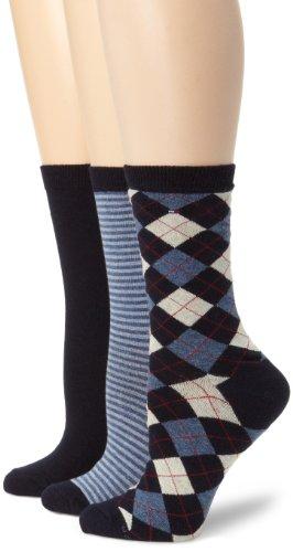 Tommy Hilfiger Womens Three Pack Argyle Stripe