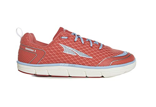 Altra Running Womens Intuition 3 Running Shoe, Coral/Blue, 5.5 M US