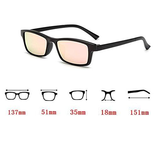 Magnetic Clip Pink de soleil With Myopia Meijunter Lunettes Frame Lunettes UV400 Polarisé Lentille Driving w7qwOAnxTX