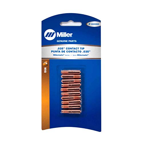 MILLER 000068 CONTACT TIPS .035 - QTY 10, Model: ()