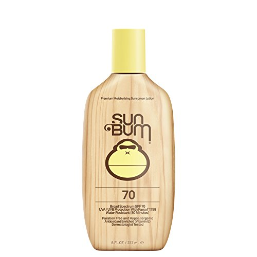 Sun Bum Moisturizing Sunscreen Lotion, SPF 70, 8-Ounce ()