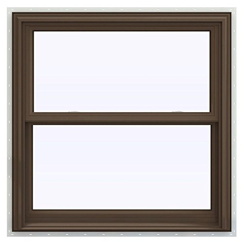 V 2500 series double hung vinyl window budget window blinds for Window treatments for double hung windows