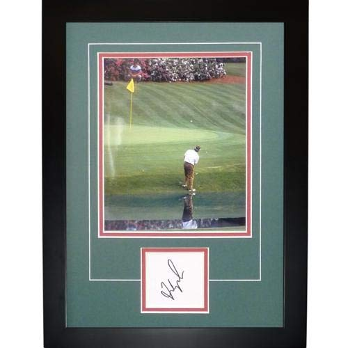phed Signed Auto 1992 Masters Chipping Signature Series Frame - Certified Authentic ()