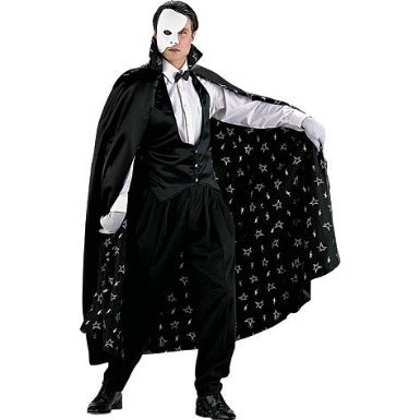 The Phantom Costume - X-Large - Chest Size 44 - Button Moon Costume