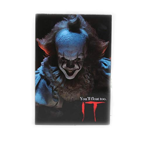 PLAYER-C 18Cm Horro Stephen Kings It Pennywise Joker Clown Bjd Action Figure Toys Dolls Cosplay Halloween Day ()