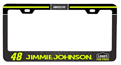 Jimmie Johnson #48 Metal License Plate Frame (Car Accessories Nascar Gear)