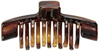Caravan Two Tier Hold Multi Racking Teeth To Scoop Up Your Hair In This Tortoise Shell Hair Claw