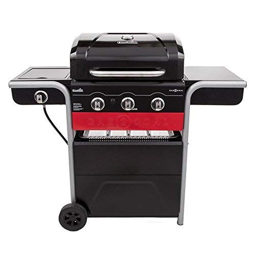 Char-Broil Gas2Coal 3-Burner Liquid Propane and Charcoal Hybrid Grill by Char-Broil