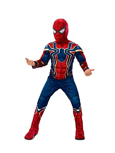 Rubie's Marvel Avengers: Infinity War Deluxe Iron Spider Child's Costume, -