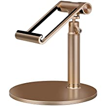 MOMAX Luxury metal stand holder for iPad and tablet (Gold)