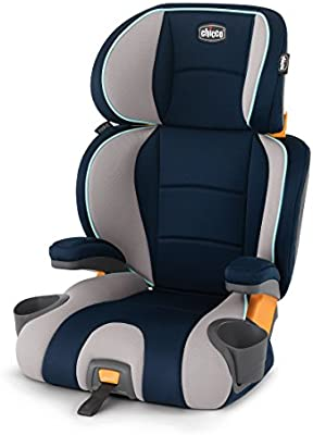 Chicco KidFit 2-in-1 Belt-Positioning Booster Car Seat, Wimbledon