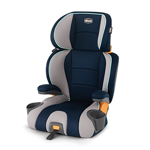 Chicco KidFit 2-in-1 Belt-Positioning Booster Car Seat, Wimbledon (Safety Plus Air Car Seat First)