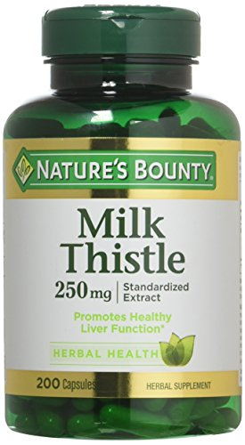 Cheap Nature's Bounty Milk Thistle 250 mg Capsules 200 ea (Pack of 3)
