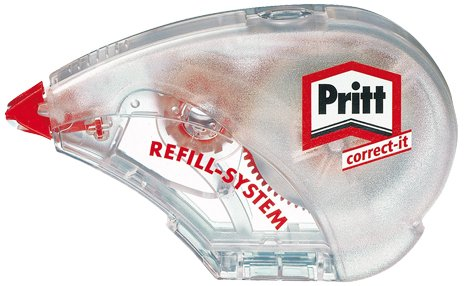 Pritt Refill Roller 4,2mm//Z4SDH wei/ß Korrektur Refill Roller Inh.14 m