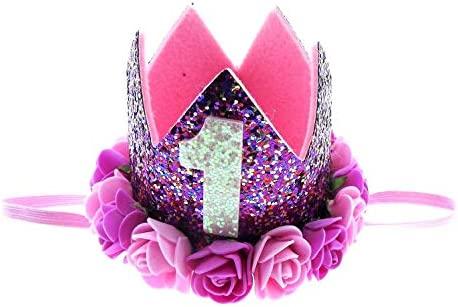 Corona de princesa con rosas, fiesta de cumpleaños, para ...