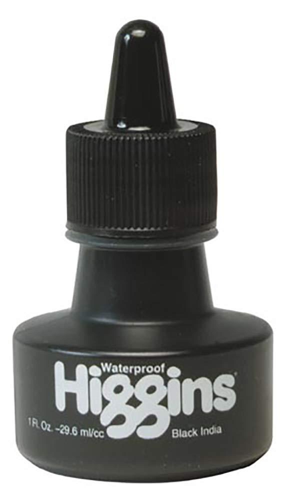 Higgins Waterproof Black India Ink 1 oz.