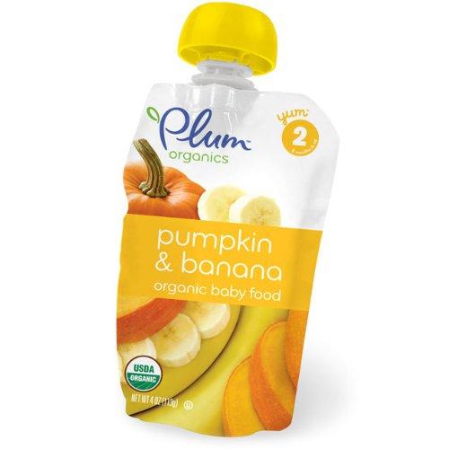 Plum Organics Second Blends Pumpkin & Banana (6x4oz) by Nest Collectives