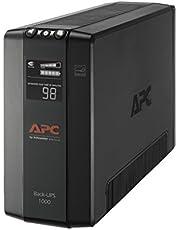 APC 1000VA UPS Battery Backup & Surge Protector, APC UPS Back-UPS Pro (BX1000M)