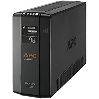 amazon com apc back ups pro 1000va ups battery backup \u0026 surge Apc Battery Backup Guide apc ups battery backup \u0026 surge protector with avr, 1000va, apc back ups pro (bx1000m)