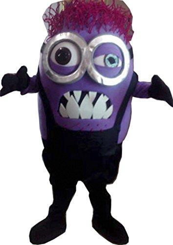 Handmade Evil Minion Mascot Costume Adult Costume / Delivery Time 3 to 4 Weeks (Adult Evil Minion Costume)