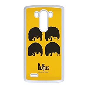 Caso G3 LG Covers Blanco La caja del teléfono Volver personalizada Beatles O8I6JA