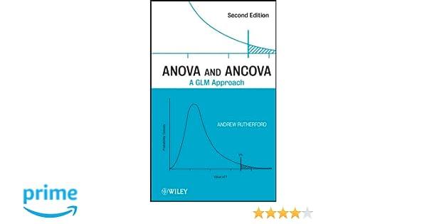 Amazon com: ANOVA and ANCOVA: A GLM Approach (9780470385555