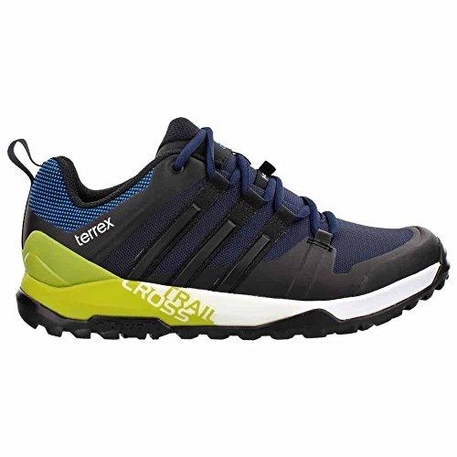 Adidas Sport Performance Menns Terrex Sti Kryss Sl Joggesko Col. Navy / Black / Enhet Lime
