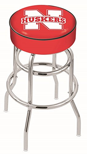 41nikMYVeSL - Holland-Bar-Stool-L7C1-University-of-Nebraska-Swivel-Counter-Stool-25