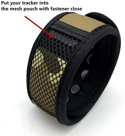 Fitbit Pouches Only for U-Pick Wardrobe for Fitbit Anklet or Bracelet Variety of Color Twill Mesh Pouches