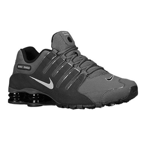 Nike 378341-059: Men's Shox NZ Dark Grey/Anthracite/Black/Metallic Iron Shoes (8.5 D(M) US Men)