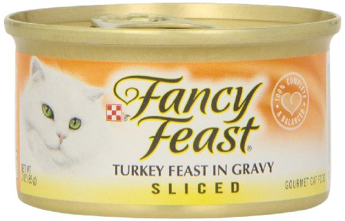 fancy feast cat food sliced - 6