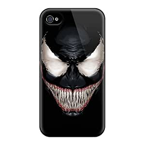 Anti-Scratch Hard Cell-phone Case For Iphone 6 With Custom High-definition Venom Skin JoanneOickle