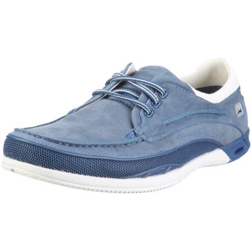 Clarks Orson Lace 20343420, Herren Halbschuhe Blau (Denim Blue Lea)