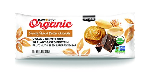 Raw Fruit (Raw Revolution Fruit, Nut and Seed Superfood Bar - Chunky Peanut Butter Chocolate, 1.6 ounce, 12)