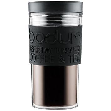L Bodum Voyage 11684 De 01 Plastique 0 35 Noir Mug kZiuTOPX