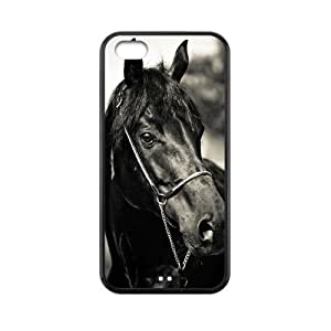 diy phone caseLove Black Horse Best Durable Rubber Silicon Case Cover for iphone 5/5s TPUdiy phone case
