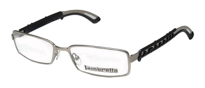46852c035d4 Lambretta Lam0001 Mens Womens Rectangular Full-rim Eyeglasses Eye Glasses  (53-17-145