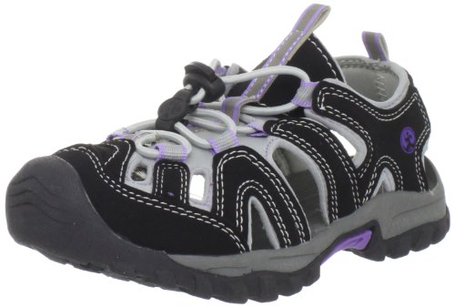 Northside Kids Burke II Sandal Black/Lilac