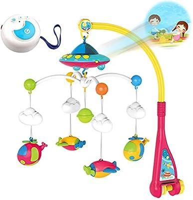 3 en 1 Baby Musical Cot Mobile, Juguete Musical para bebés con ...