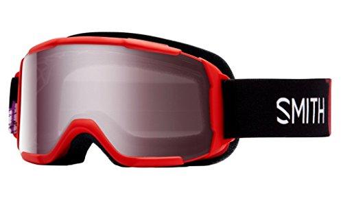 Jr Ski Goggle - Smith Optics Daredevil Youth Junior Series Ski Snowmobile Goggles Eyewear - Red Angry Birds / Ignitor Mirror / Medium