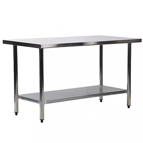 X Inch Stainless Steel Kitchen Work Table Commercial Kitchen - 30 x 60 stainless steel work table