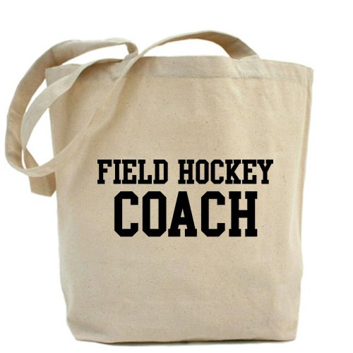 CafePress–el hockey Coach–Gamuza de bolsa de lona bolsa, bolsa de la compra