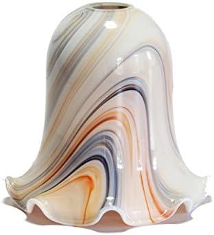 Tulipe pour lampe pour éclairage de plafond (albâtre, de rechange)
