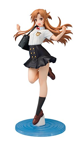 Chara-ani Sword Art Online the Movie: Ordinal Scale: Asuna Yuuki 1:7 Scale Pvc Figure (Summer Uniform Version)