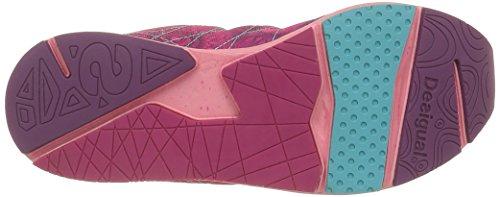3052 Desigual B Red 2 Fitness Lite Femme rose Chaussures X 0 Rose De 767U1q