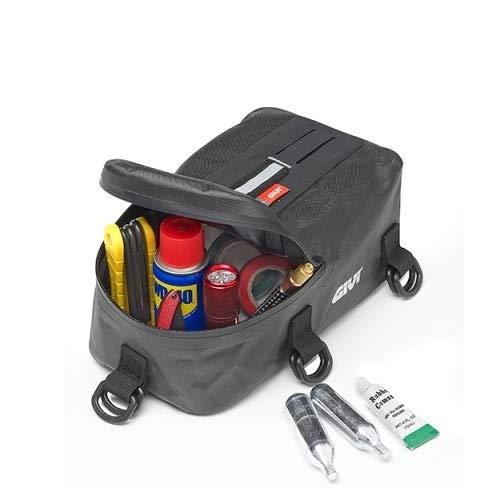 Scooter Givi GRT707 Sac Porte-Outils Universel pour Moto imperm/éable 115 x 275 x 150 mm Noir