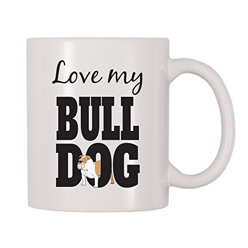 4 All Times Love My Bulldog Coffee Mug (11 oz) ()