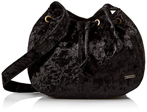Roxy Spread Love Velvet Medium Crossbody Bag, True Black from Roxy