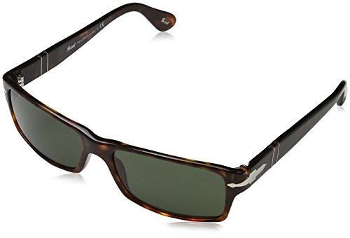 Persol PO2747S 24/31 Tortoise PO2747S Rectangle Sunglasses Lens Category 3 Size (Persol Sunglasses)