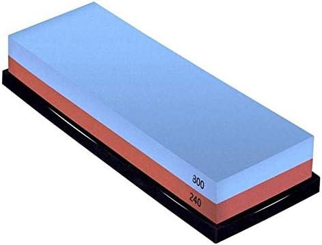 粗い研ぎのための組合せの両面砥石240/800 および滑り止めのゴム製基盤との良いホーニング,240/800